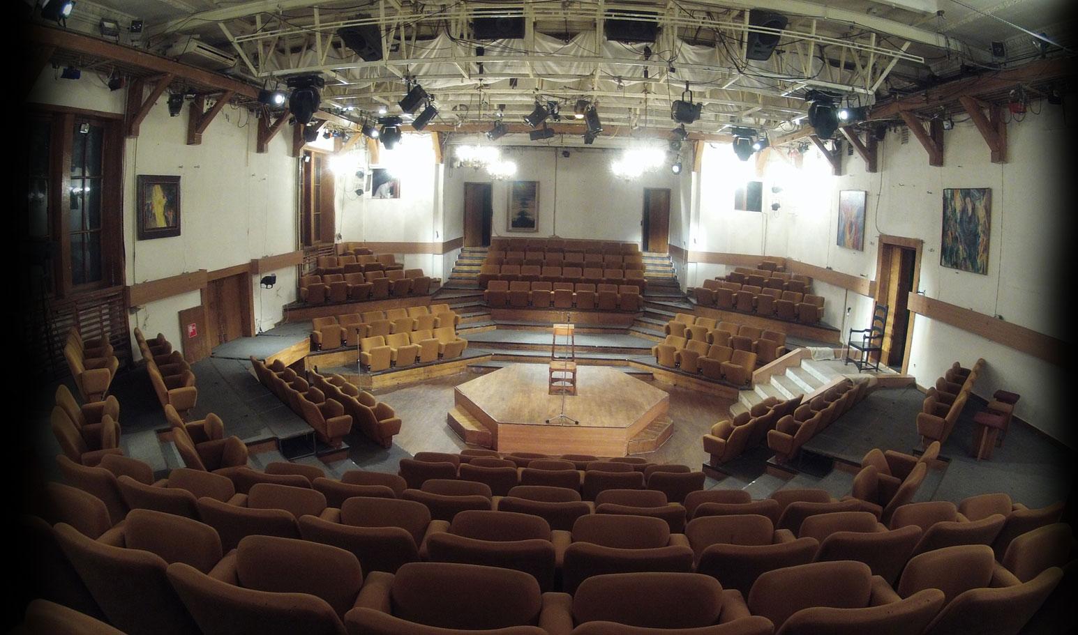 Схема зала театр сфера